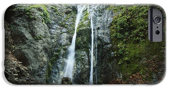 Big Sur Ca iPhone Cases - Pfeiffer Falls - Big Sur iPhone Case by Soli Deo Gloria Wilderness And Wildlife Photography