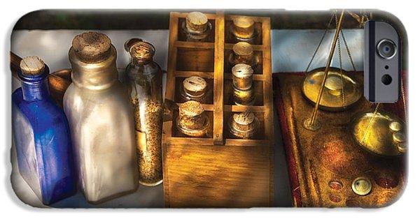 Savad iPhone Cases - Pharmacist - Field Medicine iPhone Case by Mike Savad
