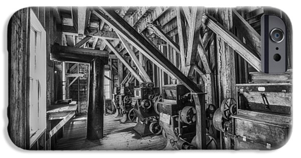 Machinery iPhone Cases - Phelps Mill iPhone Case by Paul Freidlund
