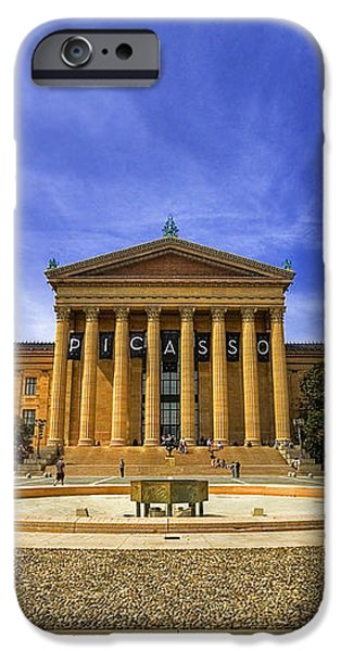 Philadelphia Art Museum iPhone Case by Evelina Kremsdorf