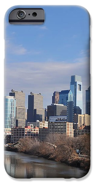 Philadelphia from the South Street Bridge iPhone Case by Bill Cannon