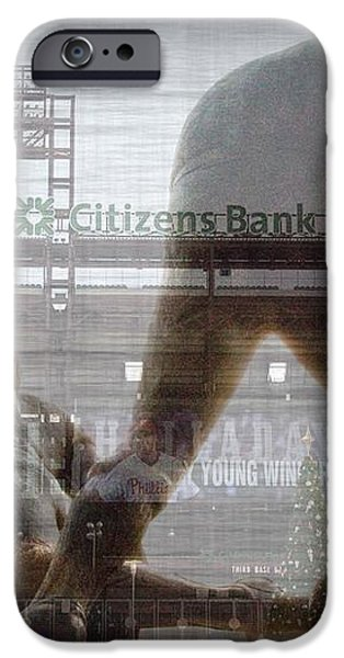 Philadelphia Phillies - Citizens Bank Park iPhone Case by Bill Cannon