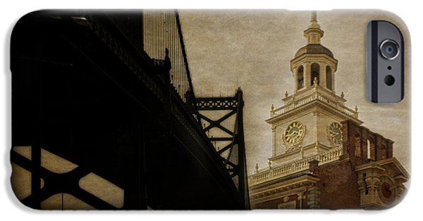 American Independance iPhone Cases - Philadelphia iPhone Case by Tom Gari Gallery-Three-Photography