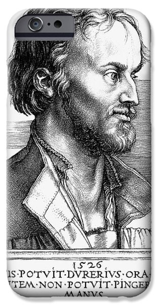 Reformer iPhone Cases - Philipp Melanchthon iPhone Case by Granger