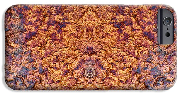 Mandala Photographs iPhone Cases - Phoenix Rising iPhone Case by Tim Gainey