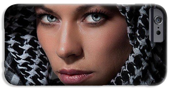 Model iPhone Cases - Phosphene iPhone Case by Sydney Riccella Kitzmiller