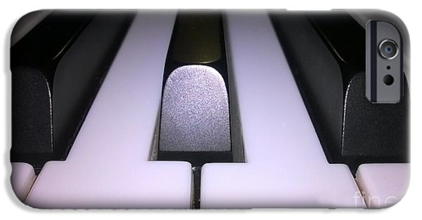Piano iPhone Cases - Piano iPhone Case by Maryem Marzouki