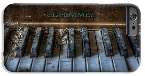 Creepy iPhone Cases - Piano Schimmel iPhone Case by Nathan Wright