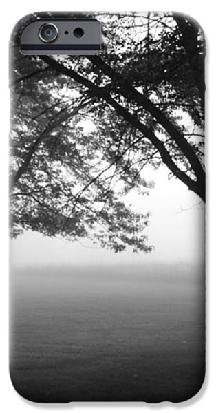 Picnic in the Fog iPhone Case by Lauri Novak