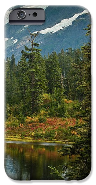 Picture Lake Vista iPhone Case by Mike Reid