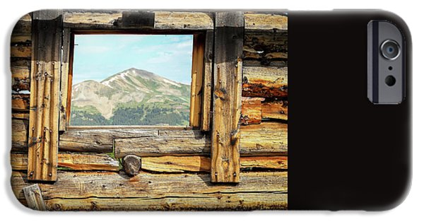 Cabin Window iPhone Cases - Picture Window iPhone Case by Eric Glaser