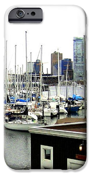 Picturesque Vancouver Harbor iPhone Case by Will Borden