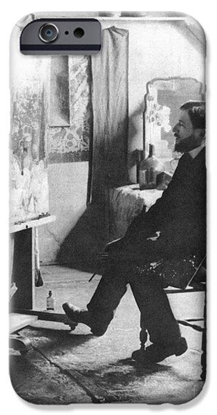 PIET MONDRIAN (1872-1944) iPhone Case by Granger