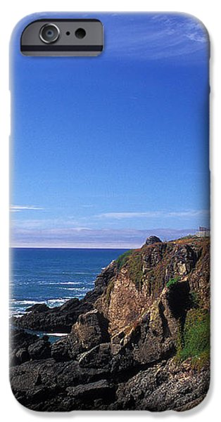 Pigeon Point Lighthouse 2 iPhone Case by Kathy Yates
