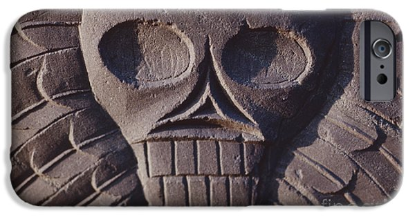 Charters iPhone Cases - Pilgrim Tombstone iPhone Case by The Phillip Harrington Collection