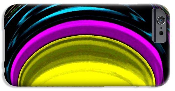 Radiating Light iPhone Cases - Pillar Of Light iPhone Case by Will Borden