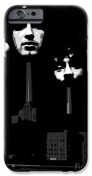 Famous Artist iPhone Cases - Pink Floyd No.02 iPhone Case by Caio Caldas