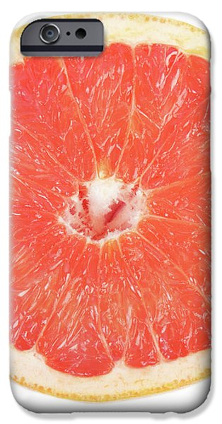 Pink Grapefruit iPhone Case by James BO  Insogna
