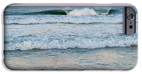 July iPhone Cases - Pink Horizon Seaside New Jersey iPhone Case by Terry DeLuco