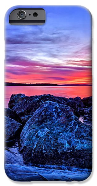 Pink Ice at Dawn iPhone Case by Bill Caldwell -        ABeautifulSky Photography