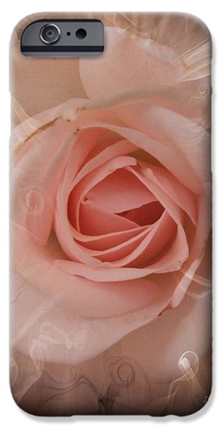 Recently Sold -  - Pastel iPhone Cases - Pink Smokey iPhone Case by Clare Bevan