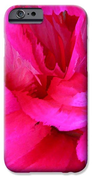 Pink Splash iPhone Case by Kristin Elmquist