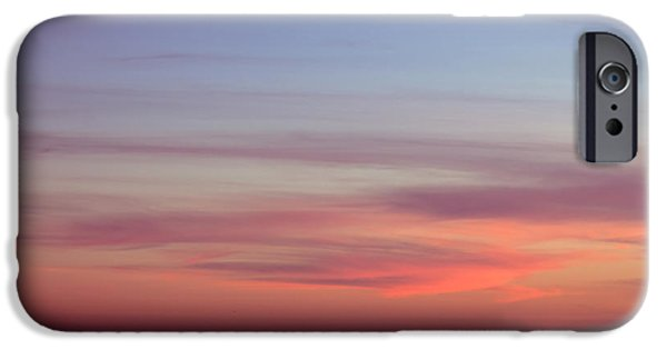 Ocean Sunset iPhone Cases - Pink Sunset iPhone Case by Ana V  Ramirez