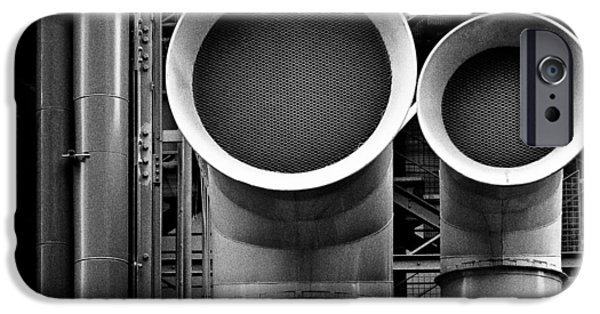 Industry iPhone Cases - Pipes iPhone Case by Dave Bowman