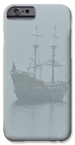 Pirate Ships iPhone Cases - Pirate Ship iPhone Case by Joy McAdams