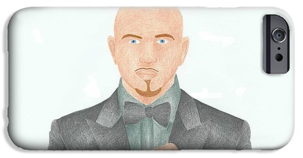 Pitbull Singer iPhone Cases - Pitbull iPhone Case by Toni Jaso