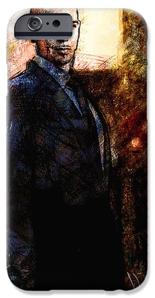 Pitbull Singer iPhone Cases - Pitbull iPhone Case by Vya Artist