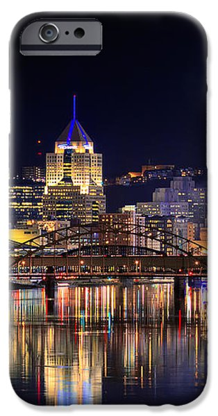 Pittsburgh 1  iPhone Case by Emmanuel Panagiotakis