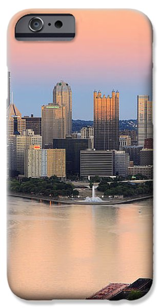 Pittsburgh 16 iPhone Case by Emmanuel Panagiotakis