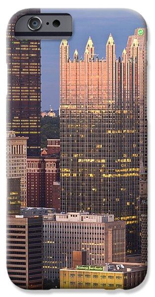 Pittsburgh 19  iPhone Case by Emmanuel Panagiotakis