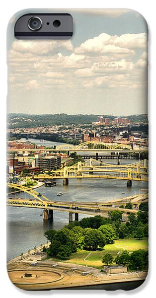Pittsburgh HDR iPhone Case by Arthur Herold Jr