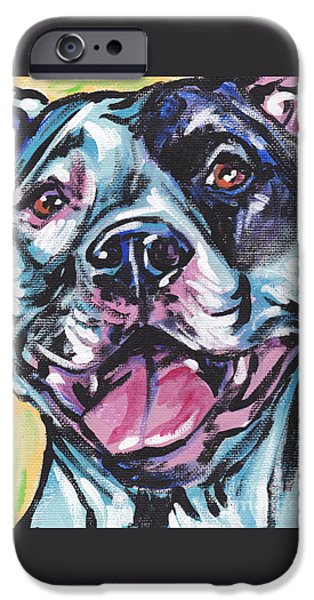 Pit Bull iPhone Cases - Pity the Pit iPhone Case by Lea