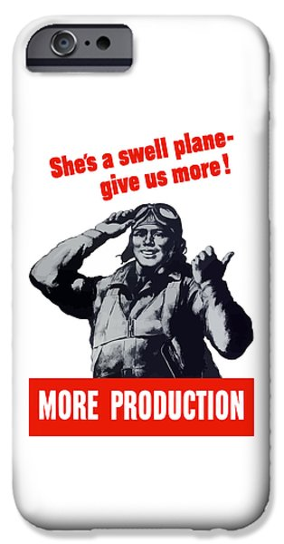 Many iPhone Cases - Plane Production Give Us More iPhone Case by War Is Hell Store