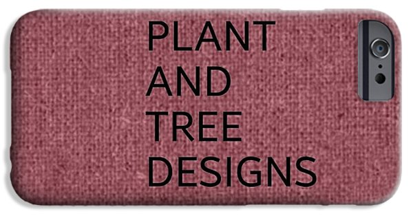 Snow iPhone Cases - Plant and Tree Designs iPhone Case by Sharon Ann Calvo