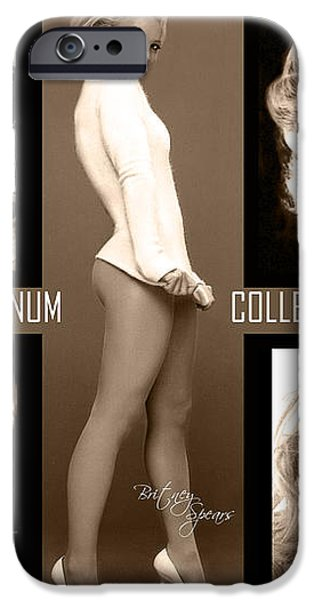 Platinum Collection iPhone Case by Anibal Diaz