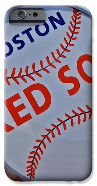 Play Ball iPhone Case by Donna Shahan