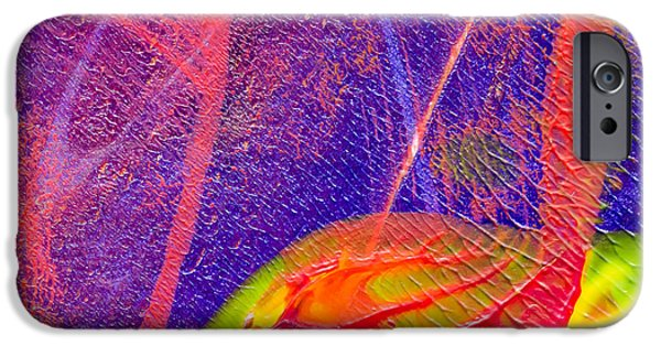 Abstract Digital Mixed Media iPhone Cases - Play it Again iPhone Case by Laura L Leatherwood