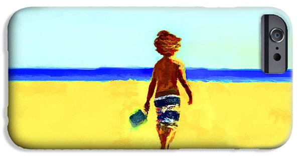 D.c. iPhone Cases - Playful Shores... iPhone Case by Lee Haxton