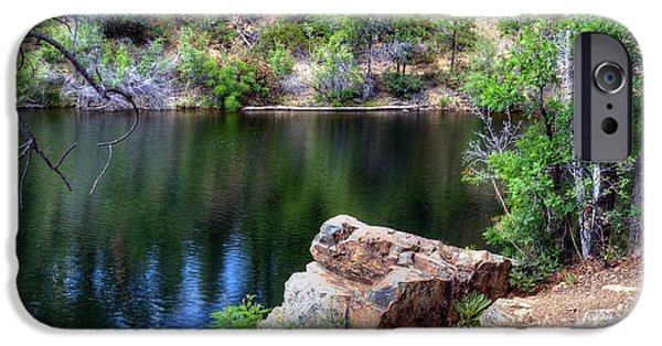 Watson Lake iPhone Cases - Pleasing Thoughts iPhone Case by Thomas  Todd