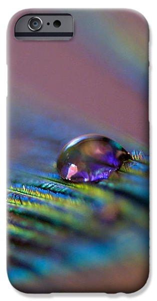 Plum Heart iPhone Case by Lisa Knechtel
