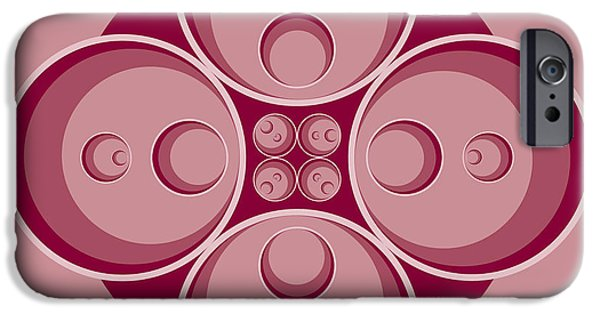 Plum Drawings iPhone Cases - Plum iPhone Case by Nathaniel Clark