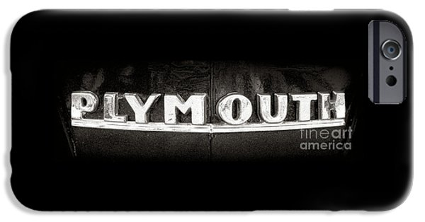 Plymouth iPhone Cases - Plymouth iPhone Case by Olivier Le Queinec