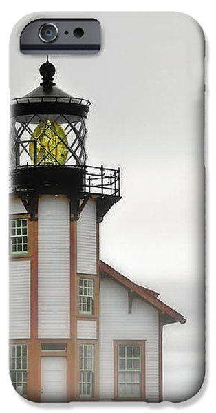 Point Cabrillo Light Station - Mendocino CA iPhone Case by Christine Till