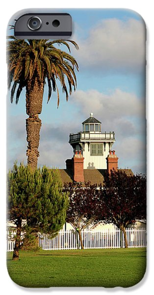 Point Fermin Light - San Pedro - Southern California iPhone Case by Christine Till