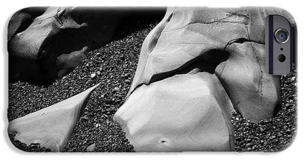 Nature Abstract iPhone Cases - Point Lobos I iPhone Case by David Gordon