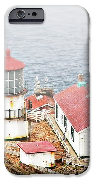 Point Reyes Lighthouse at Point Reyes National Seashore CA iPhone Case by Christine Till